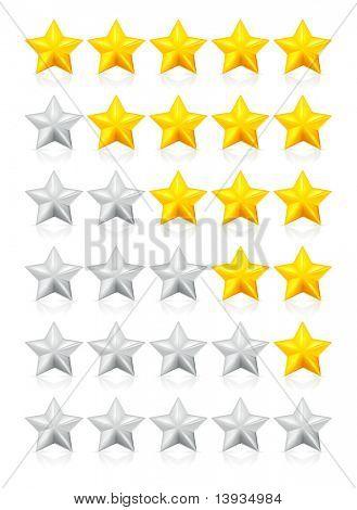 Estrellas, vector