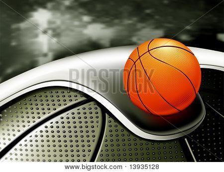 Fondo de deportes, baloncesto