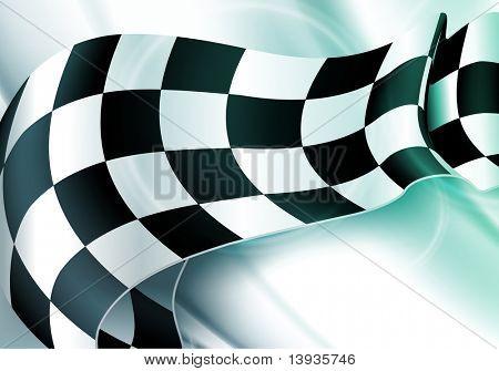 Background Horizontal Checkered, eps10