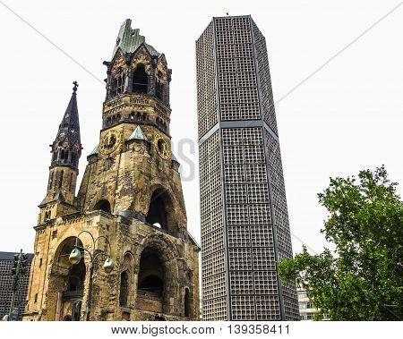 Bombed Church, Berlin Hdr