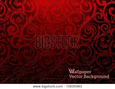 Seamless Wallpaper, Vector Background