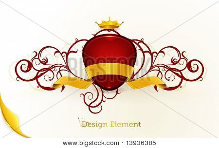 Vintage Design element, eps10
