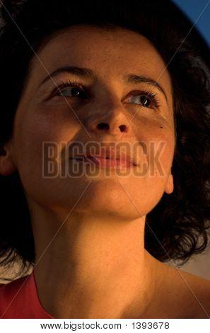 Dramatic Woman