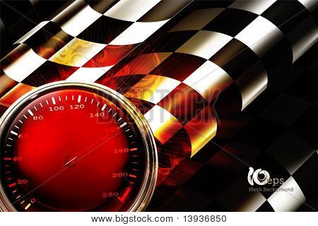 Racing Background Horizontal, 10eps