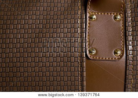 a leather texture that can be used background