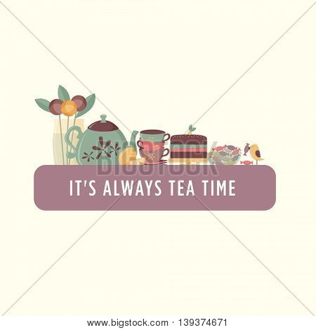 Tea time banner