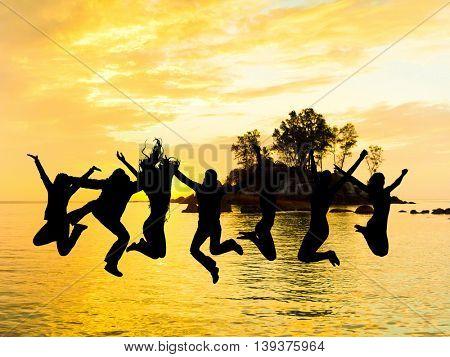 Dance the Night Away Backlit Group