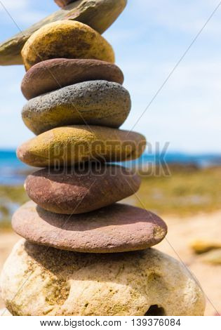 Simplicity in Inspiration Stone Tower