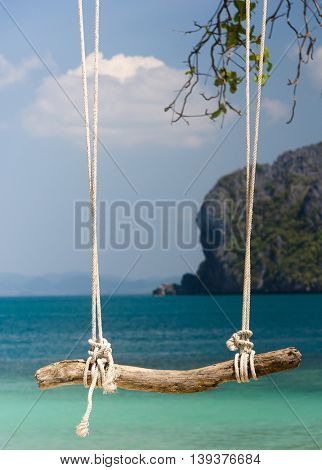 Tropical Scene Relaxing in Pardise