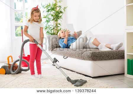 Lazy Mother Exploitation Little Child