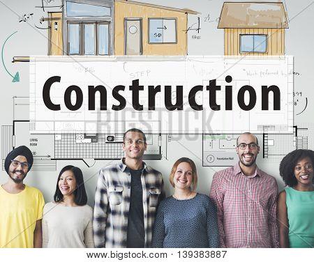 Construction Build Architecture Design Concept