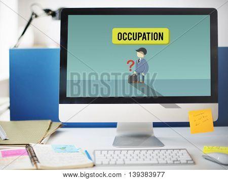 Career Employment Recruitment Job Hiring Concept