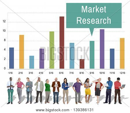 Market Research Analysis Consumer Marketing Strategy Concept