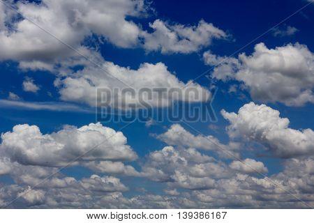 Lue Sky With Cloud