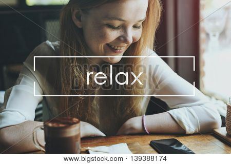 Relax Chill Freedom Moment Calm Concept