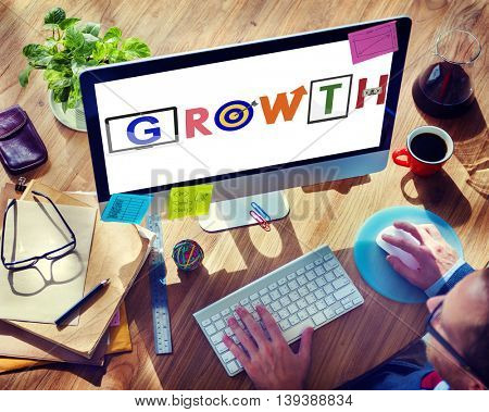 Growth Growing Motivation Success Increasing Concept