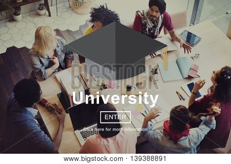 University Academy Campus College Education Concept