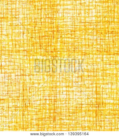 Yellow orange abstract background in small cells. Vector illustration