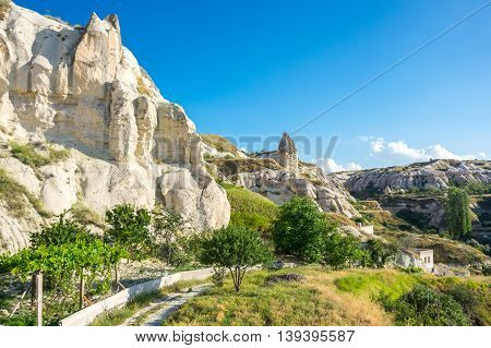 Rocks of Goreme in Cappadocia Central AnatoliaTurkey