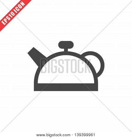 Vector Illustration Of Teapot Icon