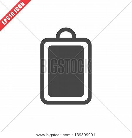 Vector Illustration Of Cutting Board Icon