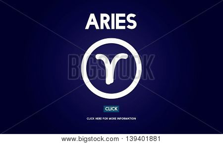 Aries Astrology Horoscope Zodiac Concept