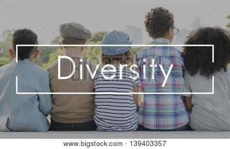 DIversity Ethnicity Variation Race Community Society Concept