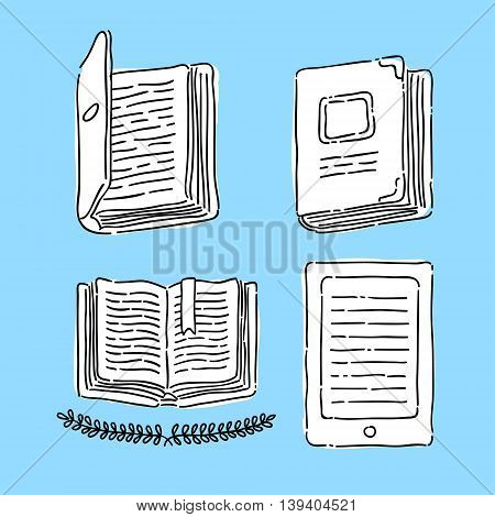 Symbol Book Vector Illustration eps 8 file format