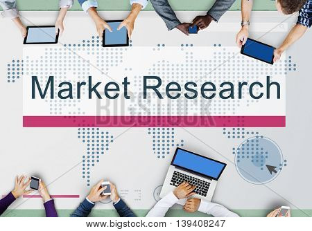 Market Research Analyze Consumer Feedback Concept