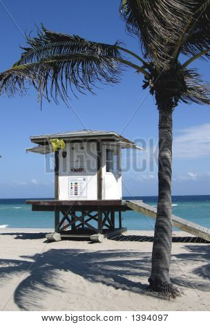 Florida Lifeguard Station