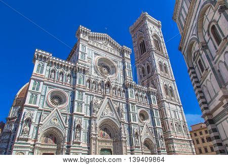 Facade Cathedral Florence