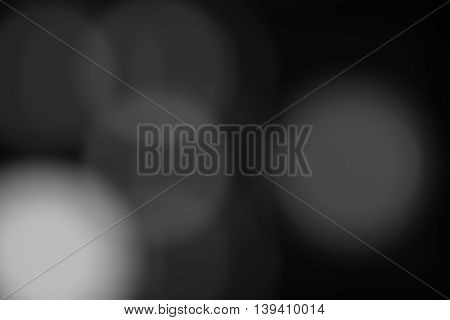 dark abstract soft blur background (black and white tone)