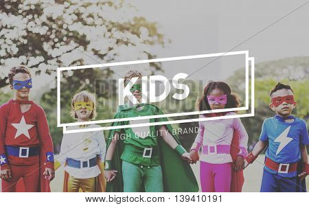 Kids Children Childhood Youth Generation Concept