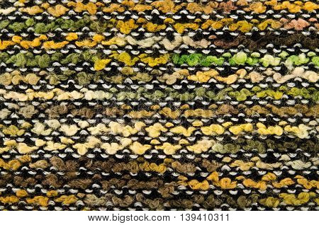 Colorful knitted fabric texture, for abstract background, toned