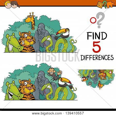 Differences Game For Kids