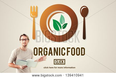 Organic Food Healthy Nourishment Concept
