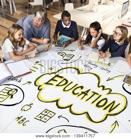Education Study Learning Knowledge School Concept