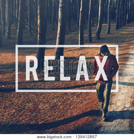 Relax Recreation Chill Rest Serenity Concept