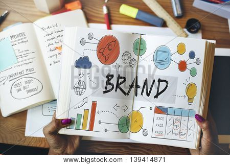 Brand Branding Advertising Trademark Marketing Concept