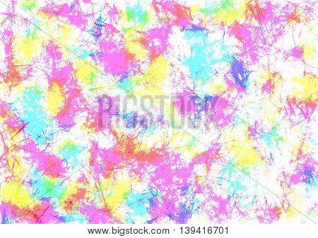 Raster Drawn Background