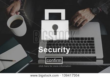 Security Lock Website Online Privacy Concept