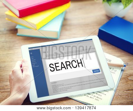 Search Internet Browse Information SEO Concept