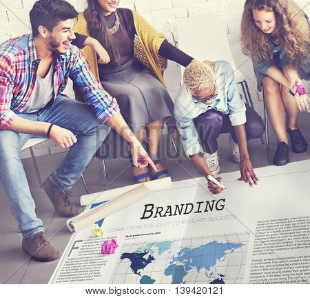 Branding Copyright Label Marketing Trademark Concept