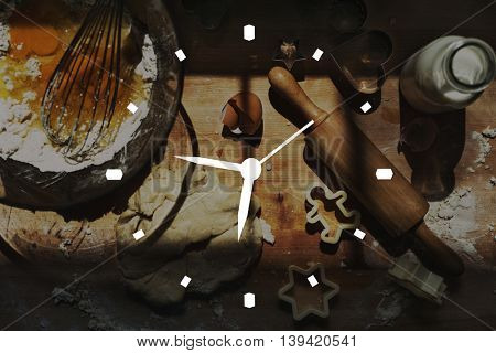 Time Timing Punctual Schedule Management Concept