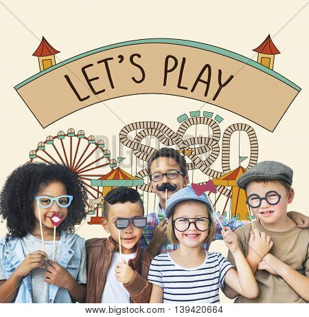 Play Activity Entertainment Happiness Leisure Concept