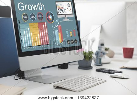 Growth Improvement Increase Development Concept