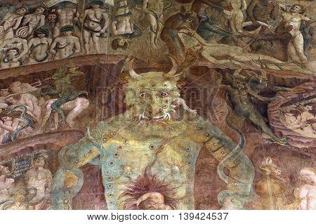 Triumph Of Death Frescoe, Camposanto, Pisa, Italy