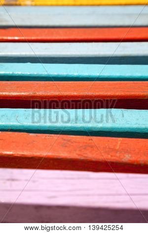 Wood colorful striped background. Multicolored abstract lines texture