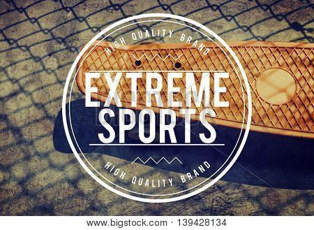 Skateboard Skateboarding Extreme Sport Activity Concept