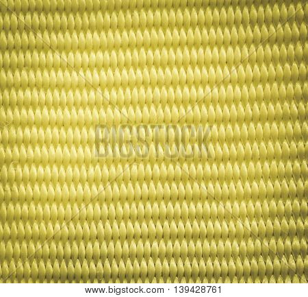 Yellow thread clothing fabric textile texture background color filtered effect